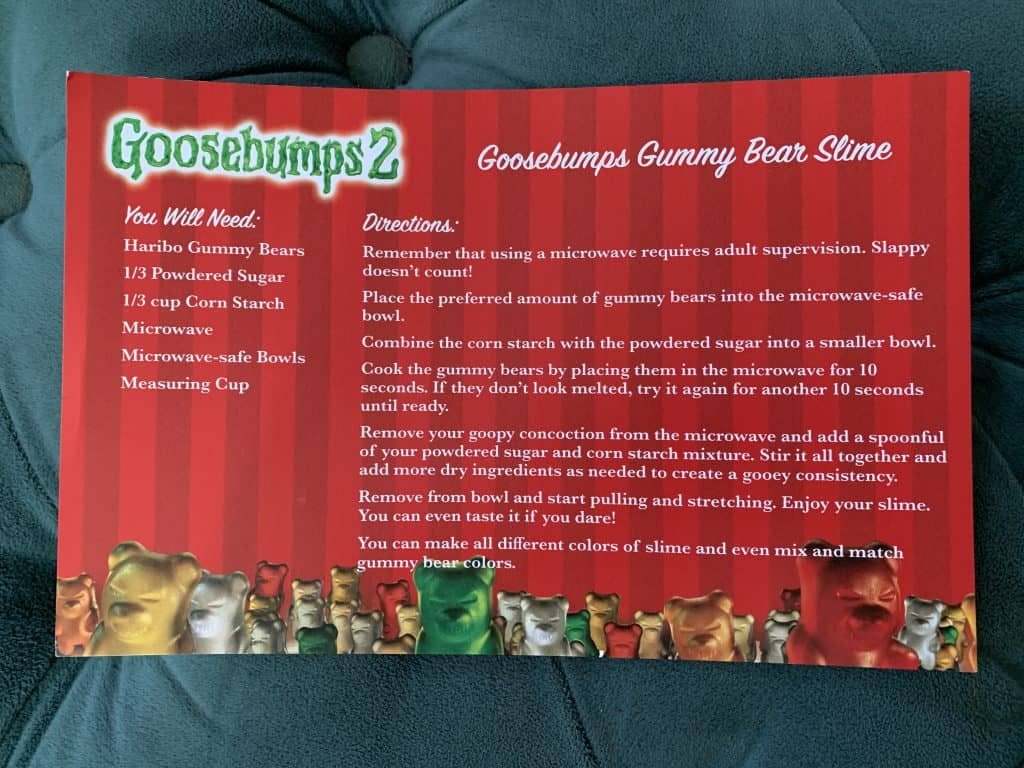 Goosebumps Party Ideas - Goosebumps 2 on DVD/Blu-ray