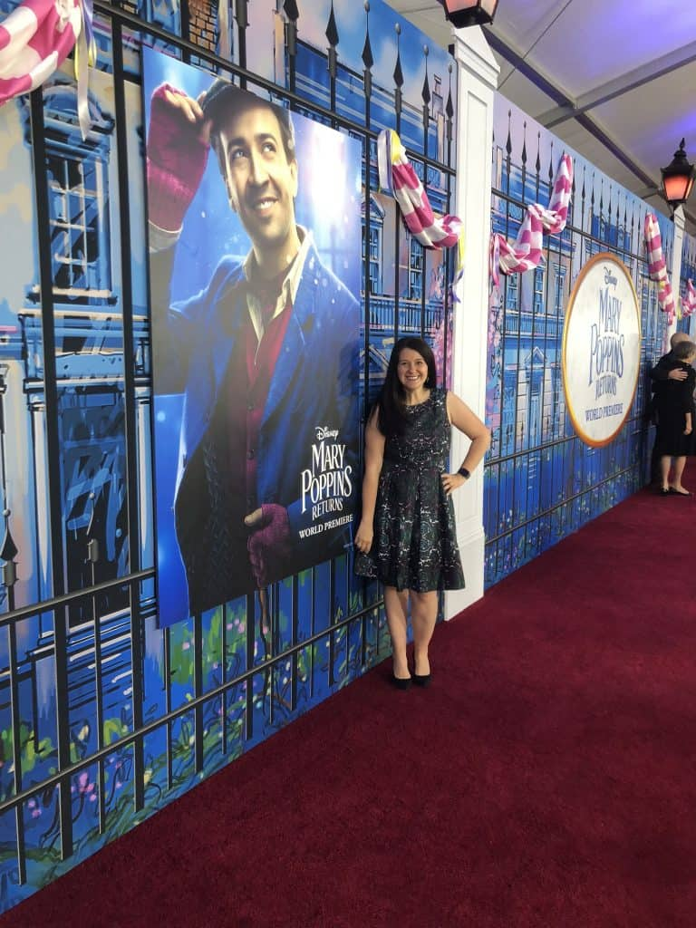 Mary Poppins Returns Event Red Carpet Premiere and After Party