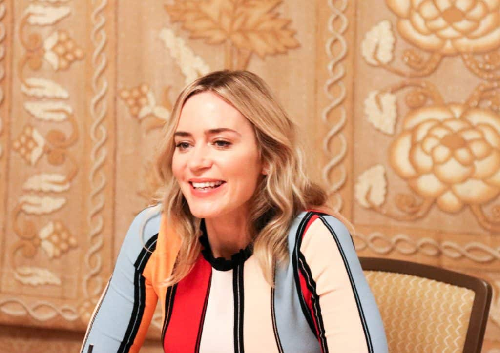Mary Poppins Returns Interview With Emily Blunt