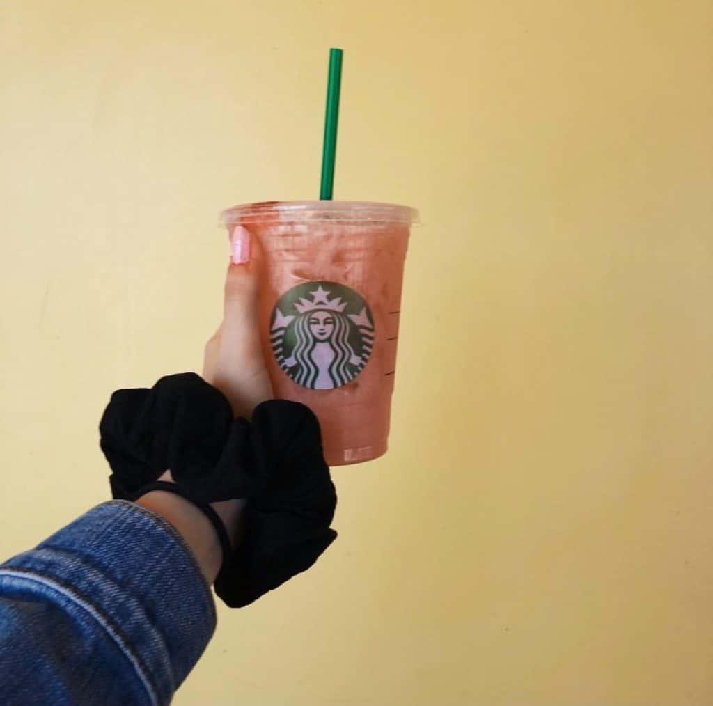 Saving Money at Starbucks - Pink Drink
