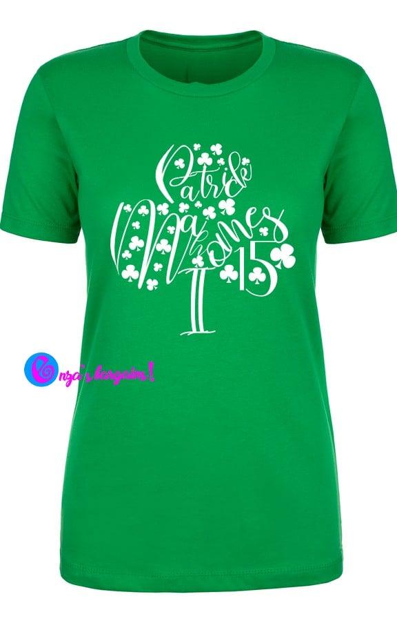 St. Patrick's Day Mahomes Shirt - Cricut Design