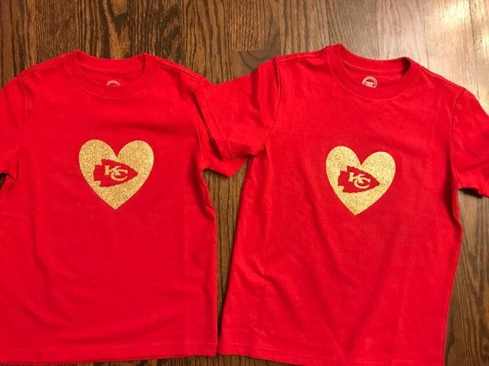 Chiefs Cricut Shirt Designs