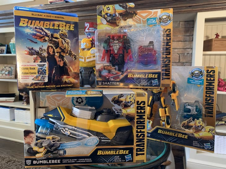 Bumblebee TOYS and DVD