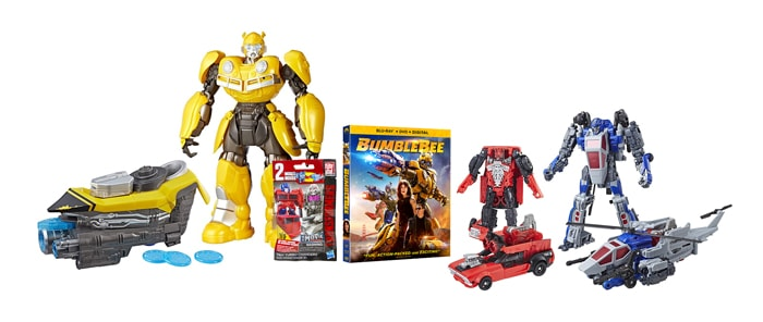 Bumblebee Family Kit with Hasbro Toys and Movie