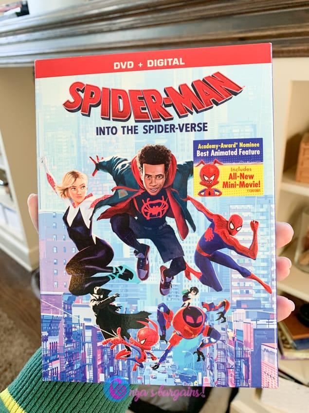 Spider-Man: Into the Spider-Verse DVD