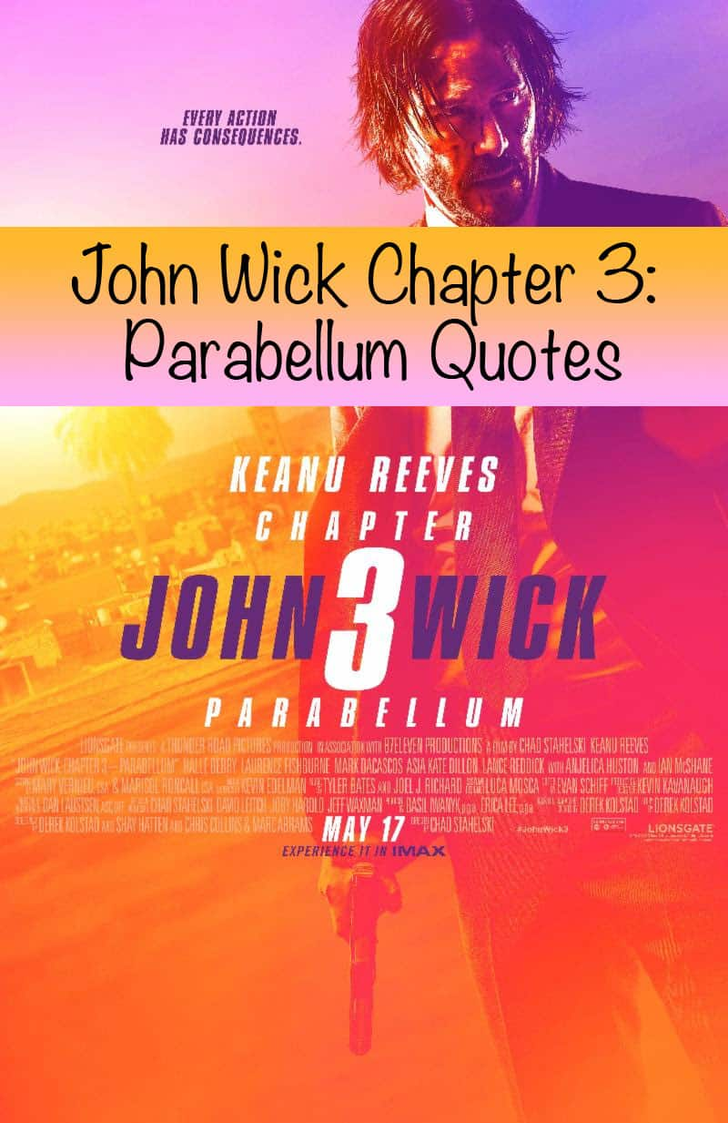 John Wick Chapter 3: Parabellum Quotes