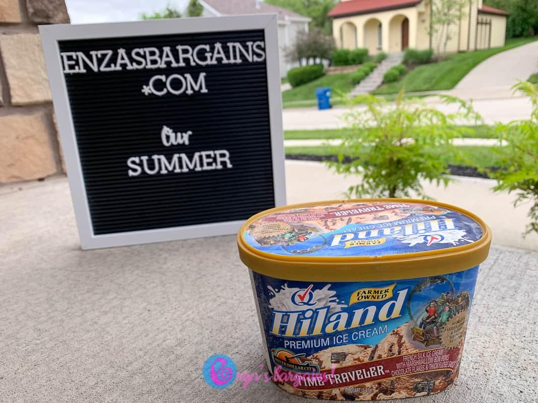 Hiland Dairy Time Traveler Ice Cream - Summer Snack Ideas