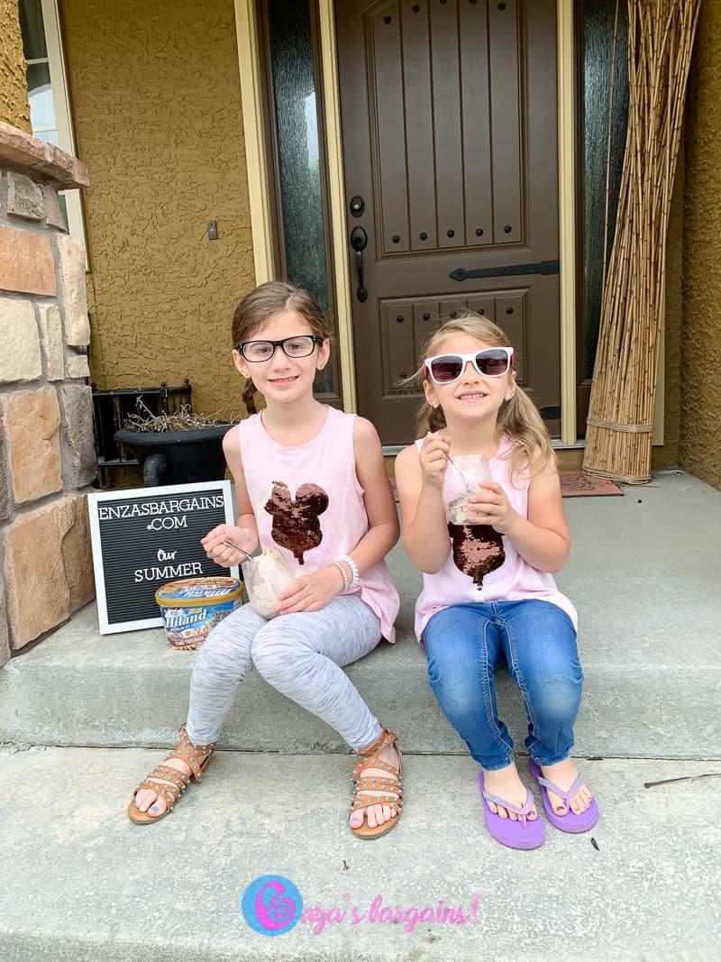 "Eating Ice Cream - Favorite ""snack""!"