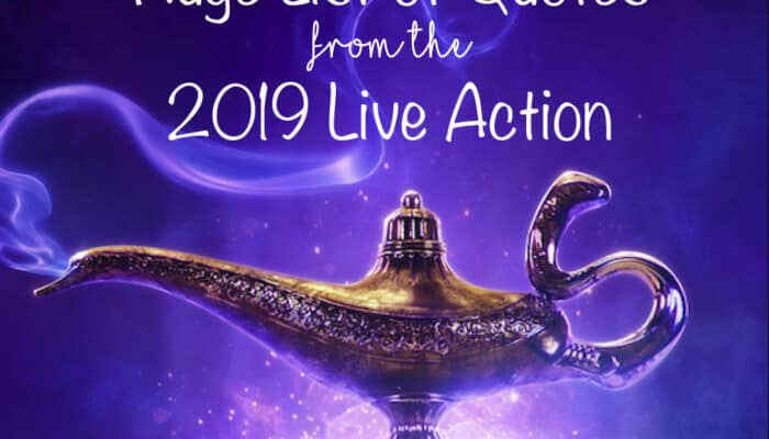 Aladdin Quotes - 2019 Live Action TOP Quotes List