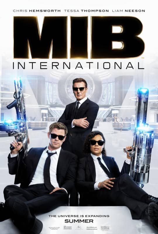 MIB: International Movie Review and Movie Poster