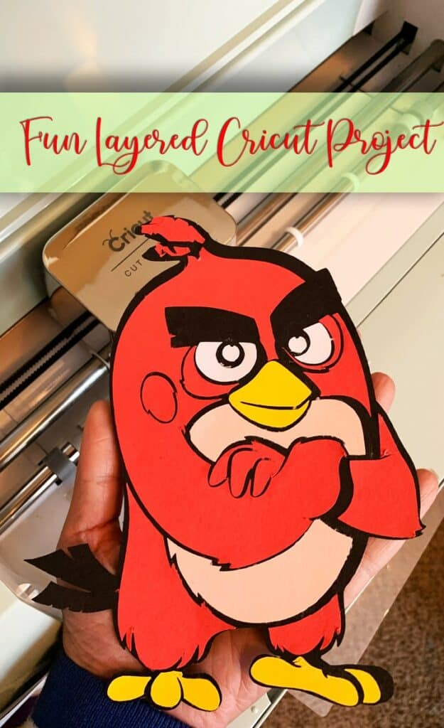 Angry Birds 2 Cricut Project