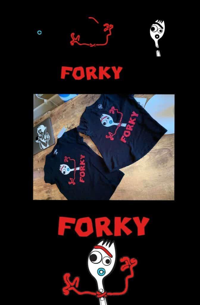 Forky SVG for Cricut - Toy Story 4 Shirt Design