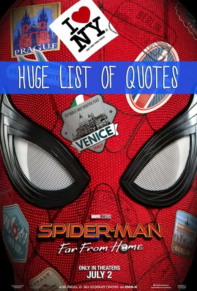 Spider-Man: Far From Home Quotes