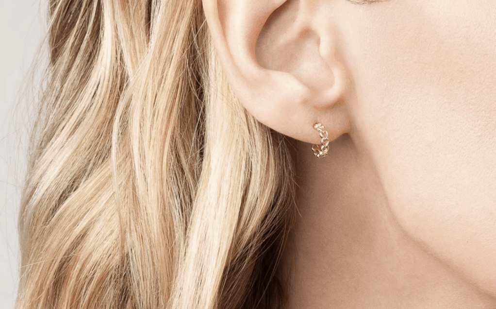 Back to School Gift Guide - Au-Rate Gold Earrings