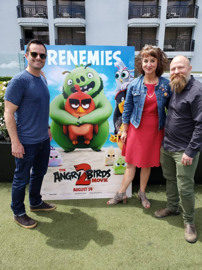The Angry Birds Movie 2 - Director Thurop Van Orman and Production Designer Pete Oswald