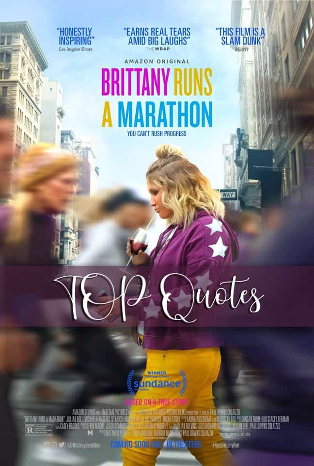 Brittany Runs a Marathon Quotes