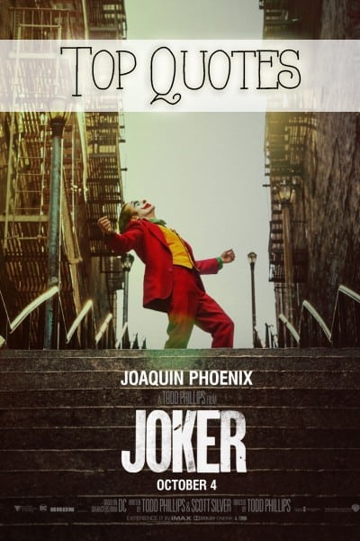 Joker Quotes - Top Lines From the Movie