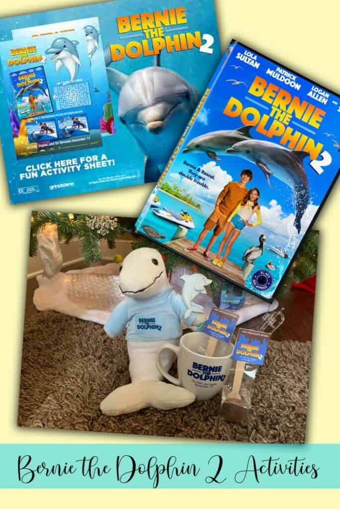 Bernie the Dolphin 2 Movie & Activity Sheets