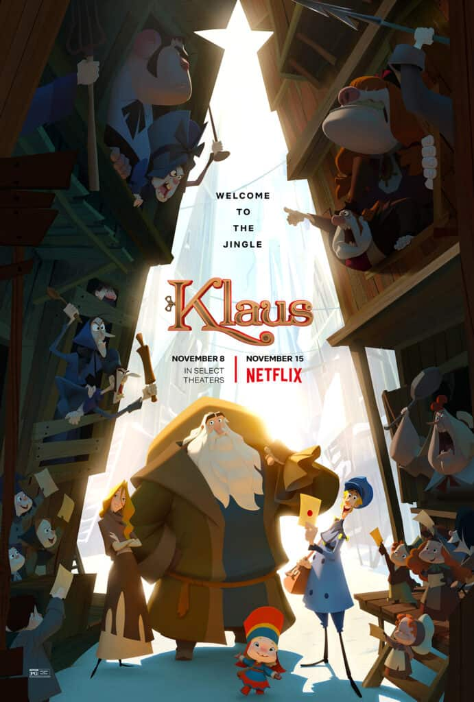 Klaus Movie Poster - A Christmas Movie About Kindness
