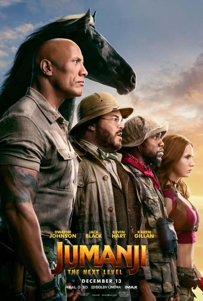 Jumanji: The Next Level Kansas City Advance Screening and Prize Pack Giveaway