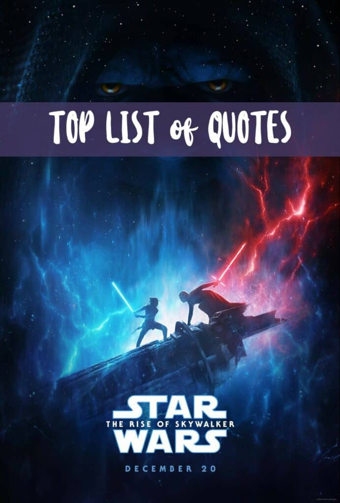 Star Wars: The Rise of Skywalker Quotes
