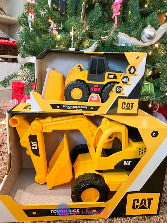 Cat Tough Machines and Cat Tough Rigs Toys