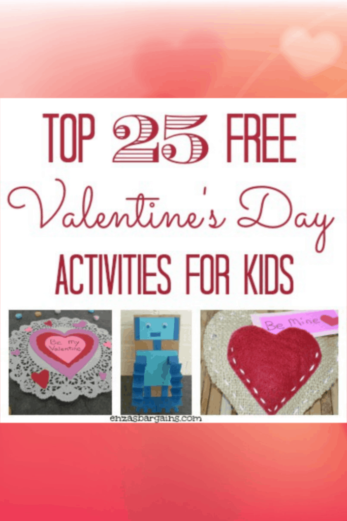 Top 25 FREE Valentine's Day Activities for Kids
