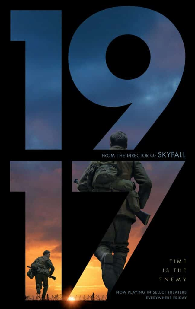 1917 Review - It is a glorious, sweeping, epic movie.