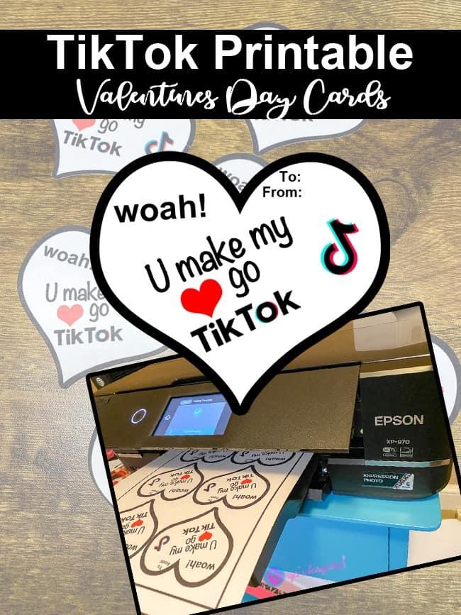 TikTok Valentine's Day Cards