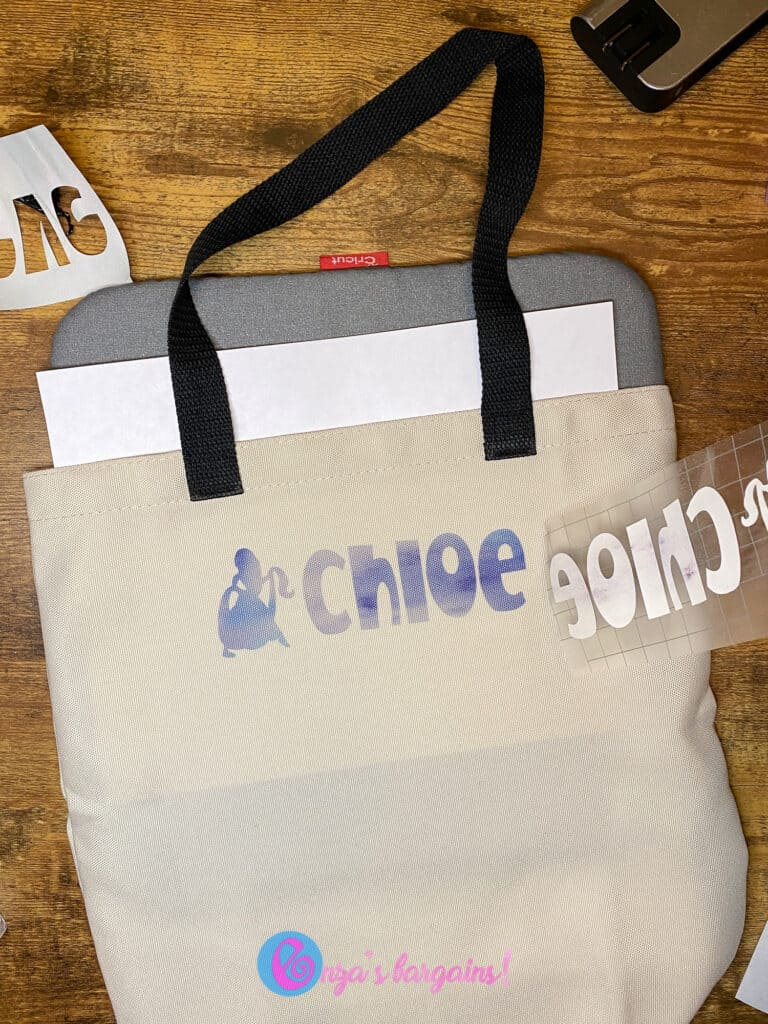 Cricut Infusible Ink on Medium Tote