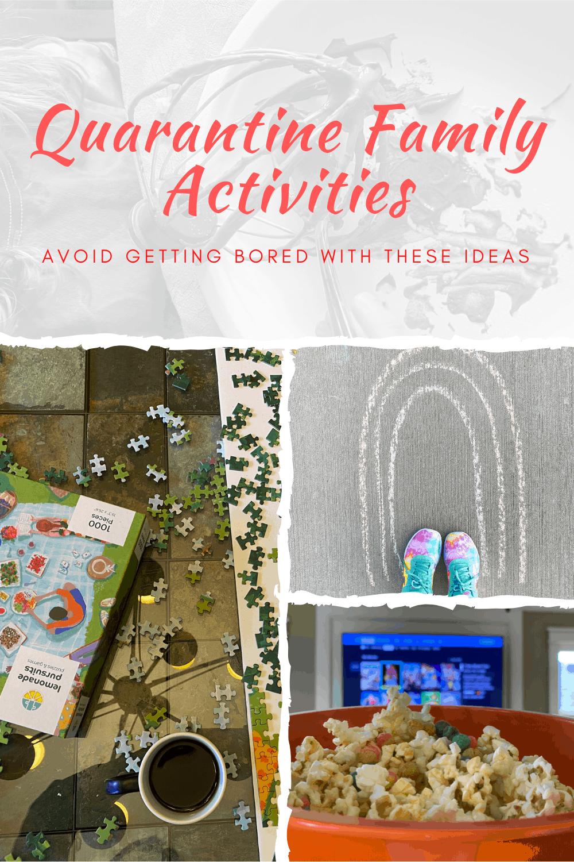 Quarantine Family Activities