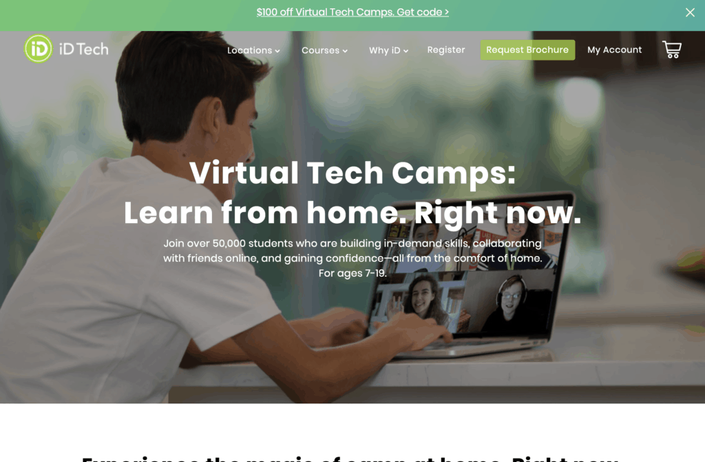 iD Tech Camps Promo Code