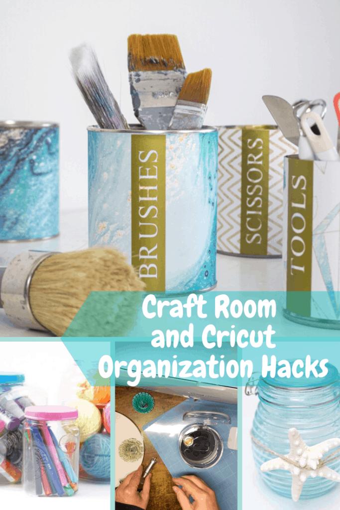 Cricut Machine Tool Organizer - And Organizing Your Craft Room