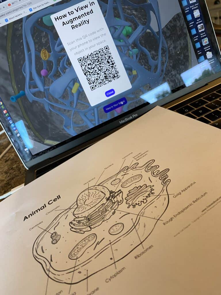 How do you learn about cells without a microscope? Lesson Plan - Seek Education AR Review