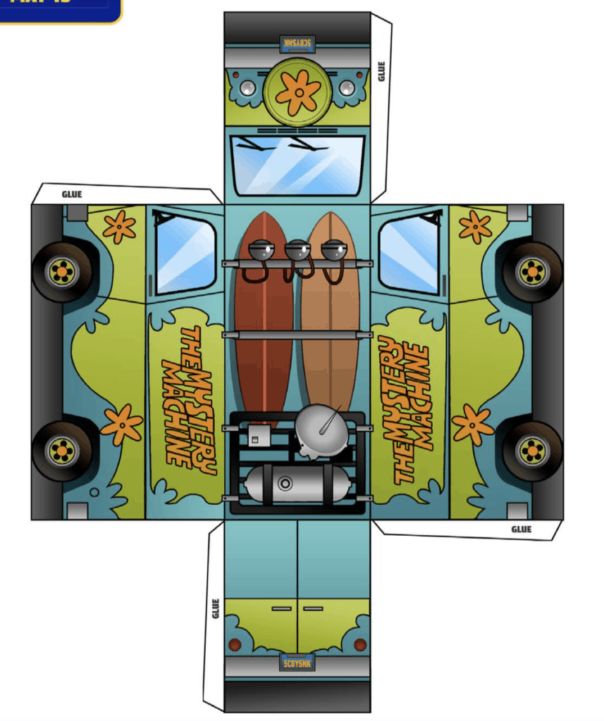 Scoob Mystery Machine Craft