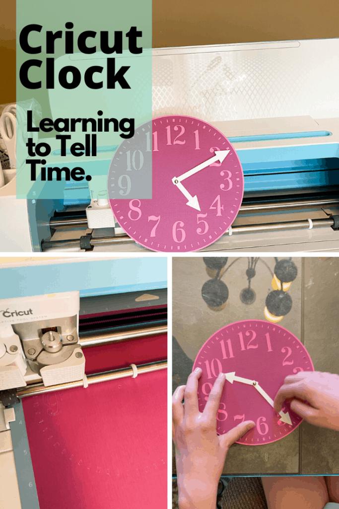 cricut learning clock file
