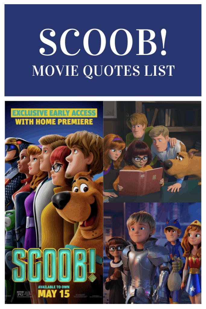 Scoob! Movie Quotes