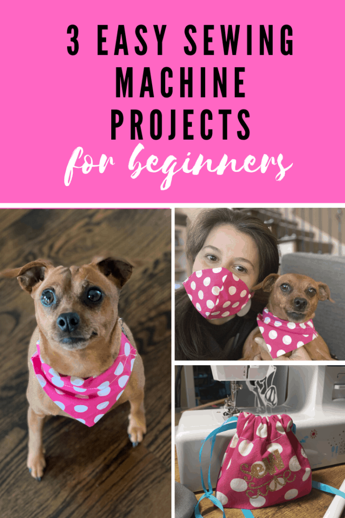 3 Easy Sewing Machine Projects