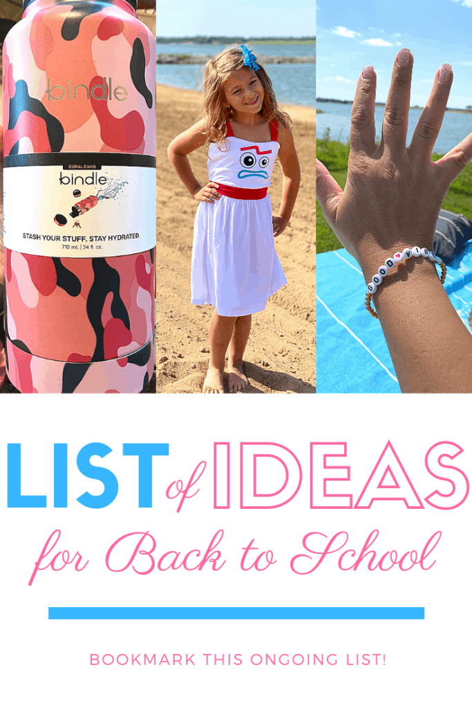 Back to School Guide Reviewed Items - Ongoing List