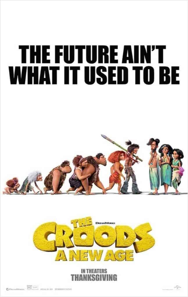 The Croods: A New Age Review Poster