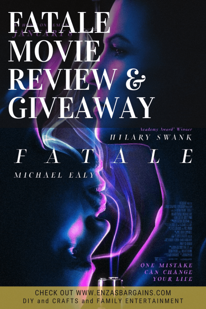 Fatale Review & Giveaway - Twisty, Turny, and Violent