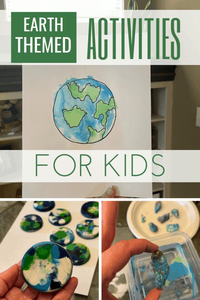 Earth Craft Activity Ideas List