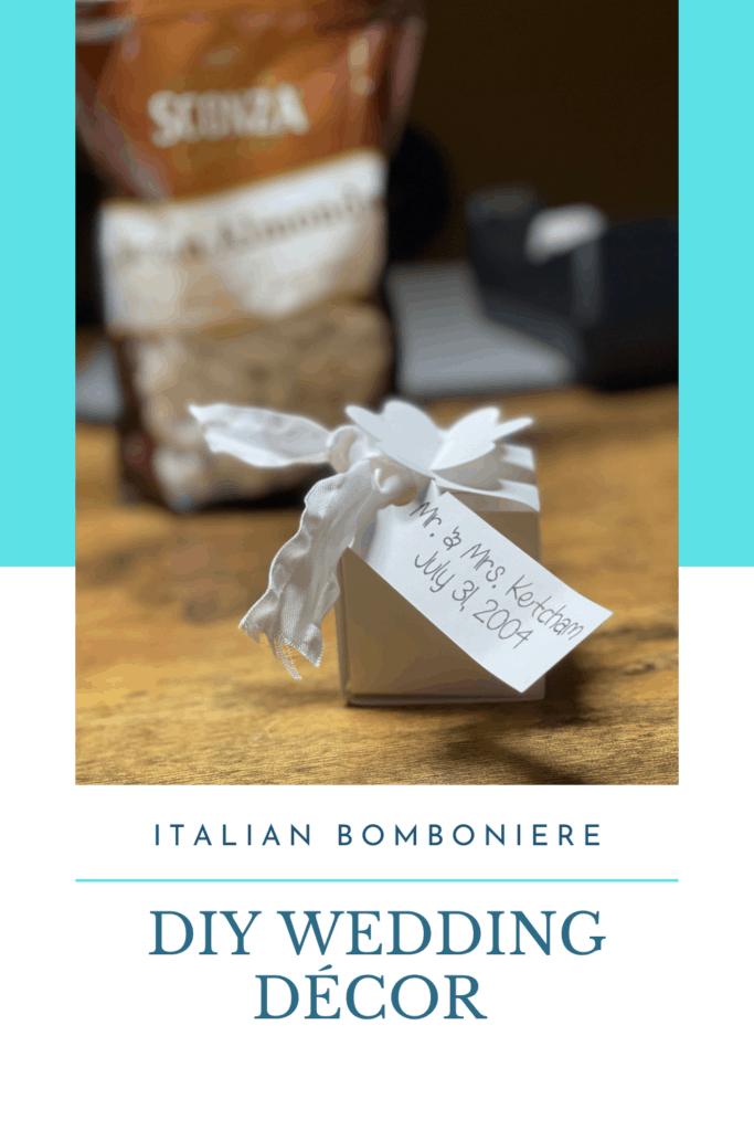 DIY Wedding Decor: DIY Wedding Décor Italian Bomboniere