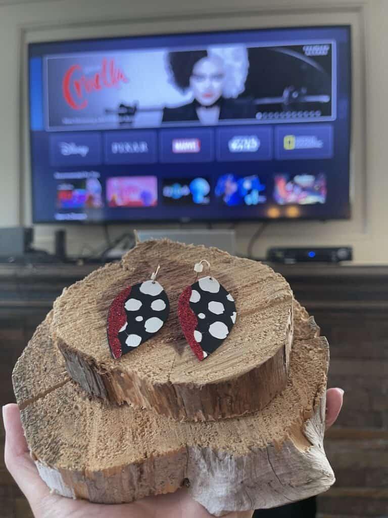 Cruella Inspired Craft with a Cricut Maker