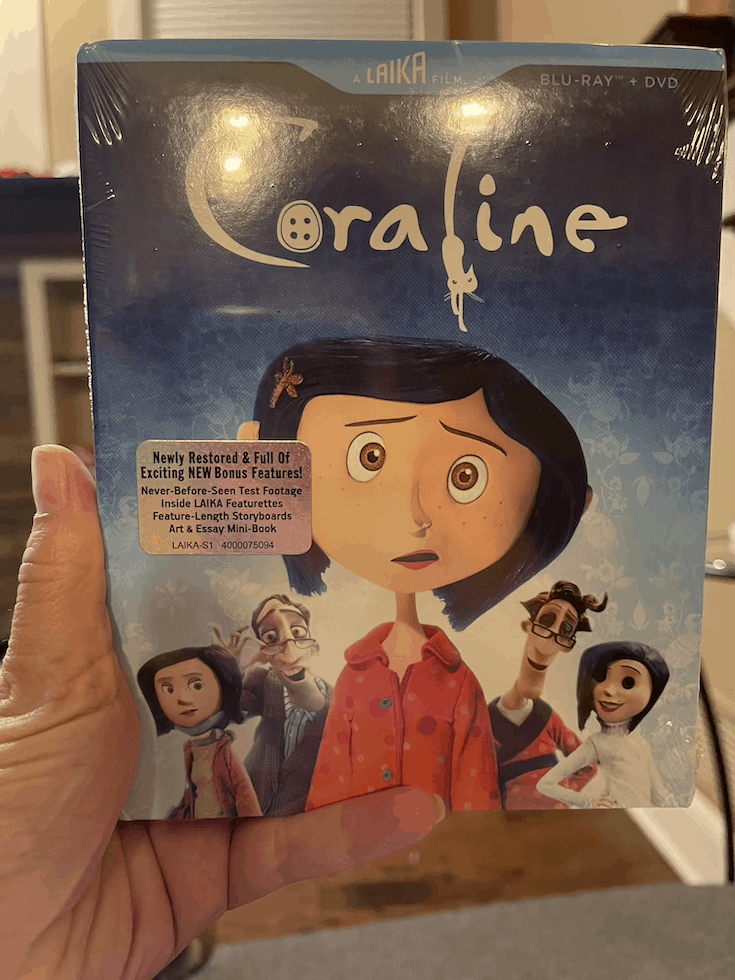 LAIKA'S Caroline in theaters one night only, and in a new Blu-ray/DVD on Aug 31st