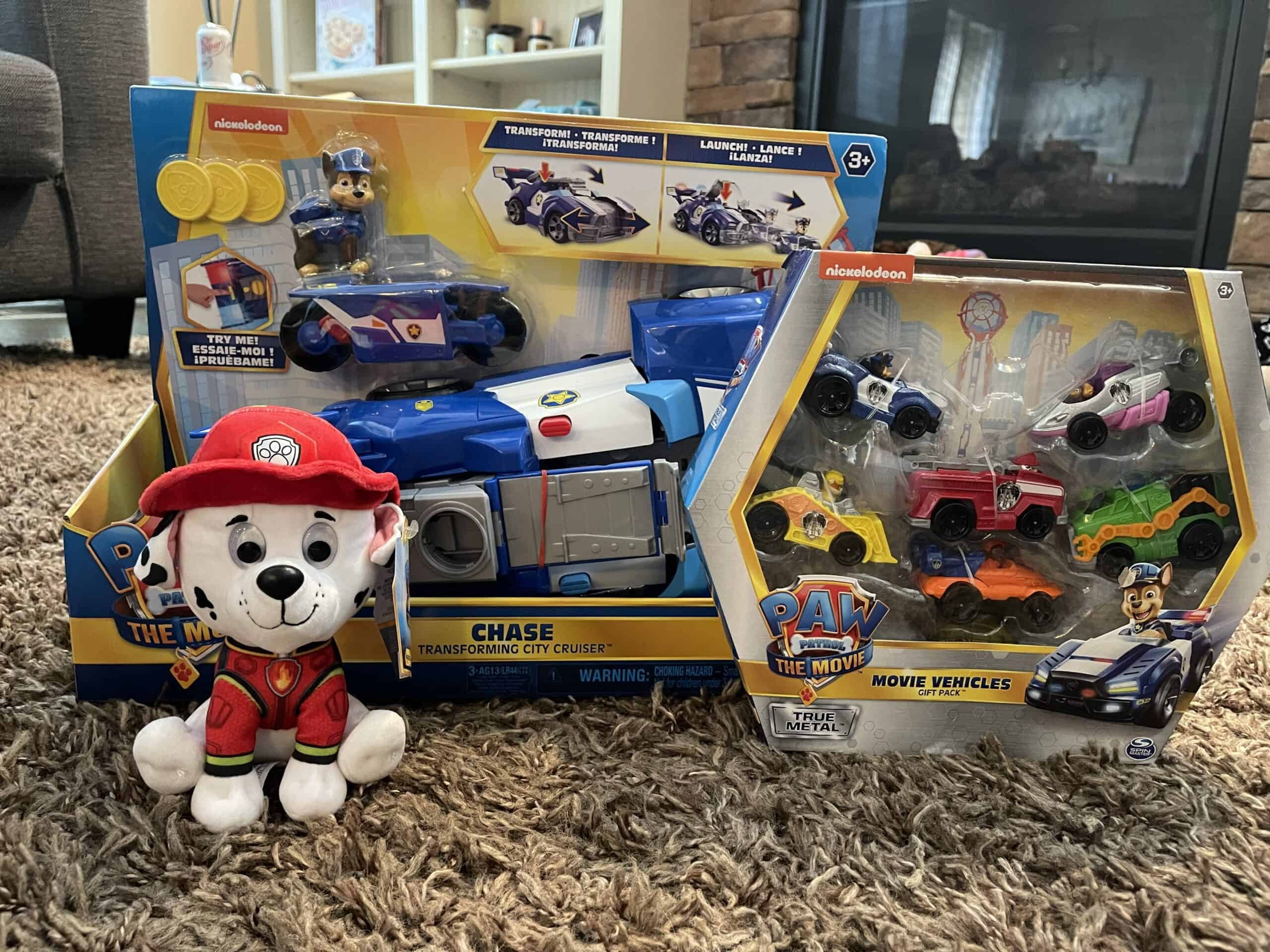Paw Patrol Unleashed Toys and Movie!