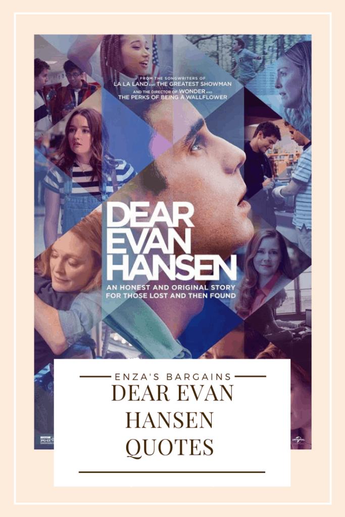 Dear Evan Hansen Quotes