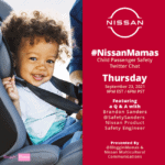 Nissan Safety Twitter Chat on Thursday, 9/23/21 at 9p ET #NissanMamas